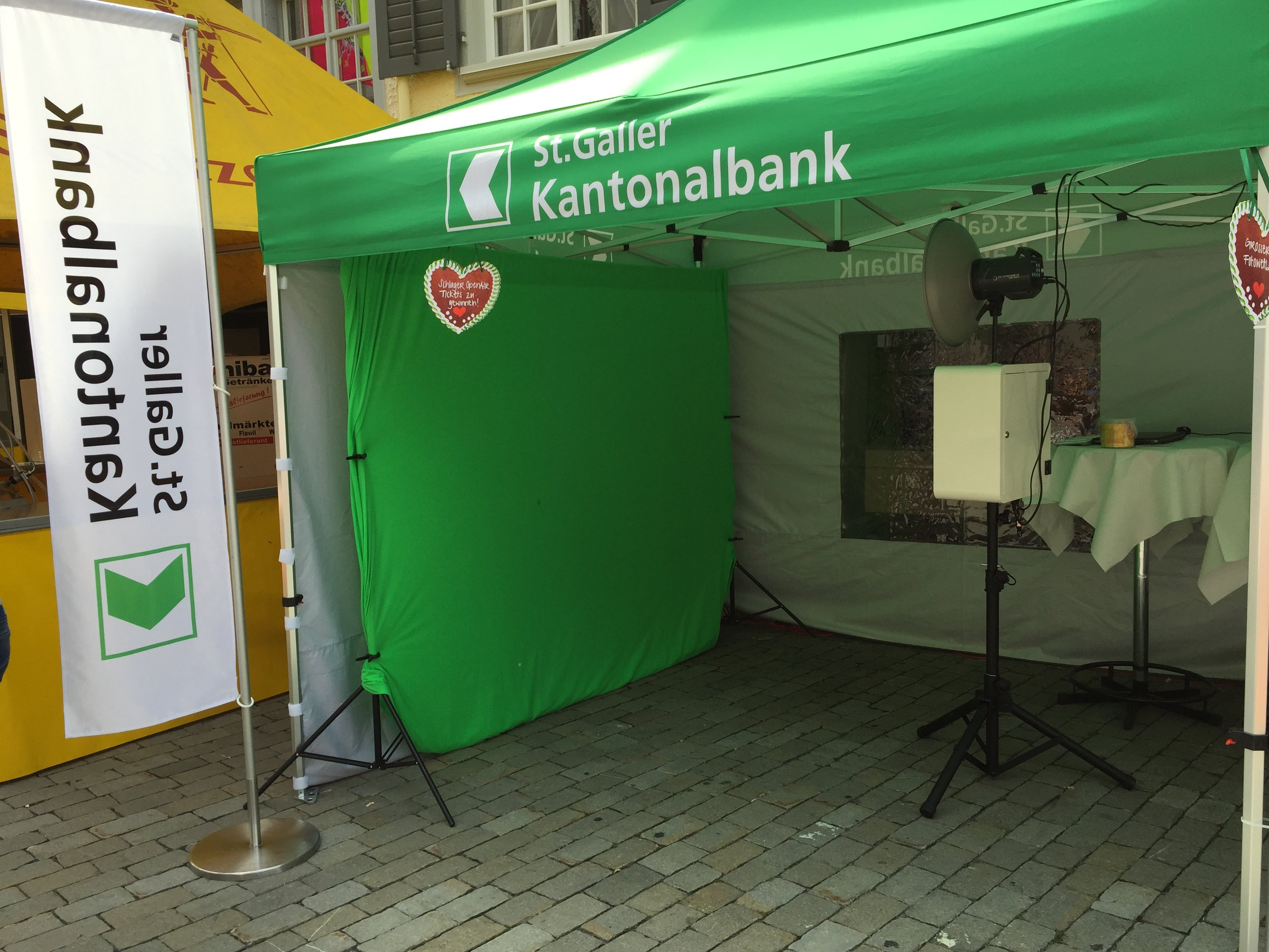 Photo Booth Mobile für die St. Galler Kantonalbank