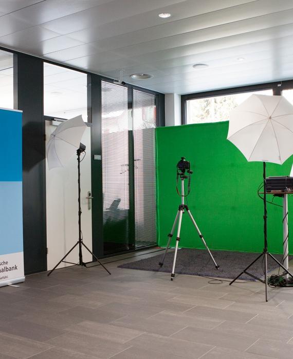 Photo Booth Open mit Greenscreen am Tag der offenen Tür der AKB in Suhr