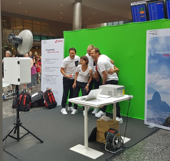 Social-Media-Kampagne für Swiss International Airlines