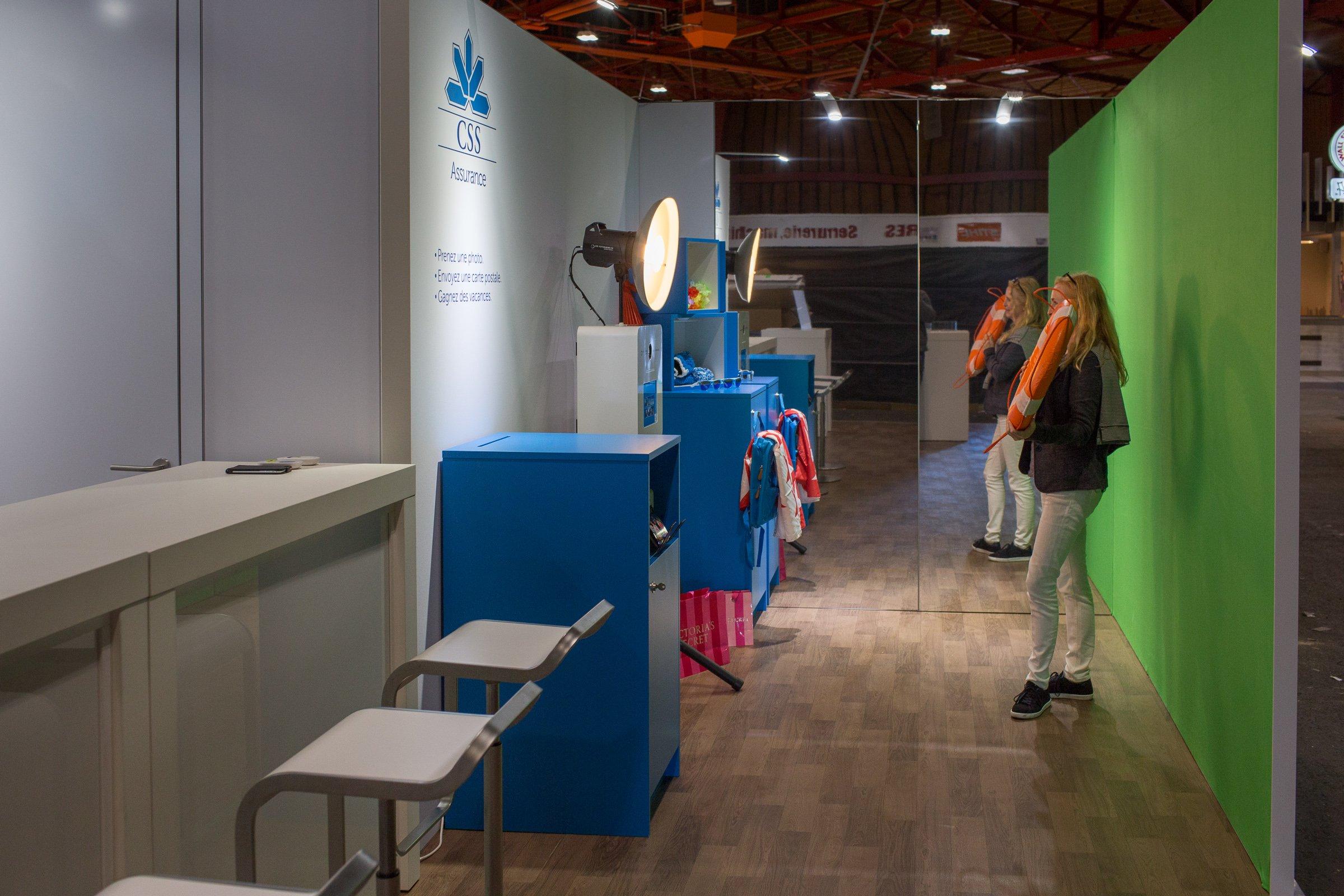Photo Booth avec Greenscreen: Voire du Valais