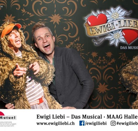 Photo Booth am Musical «Ewigi Liebi»