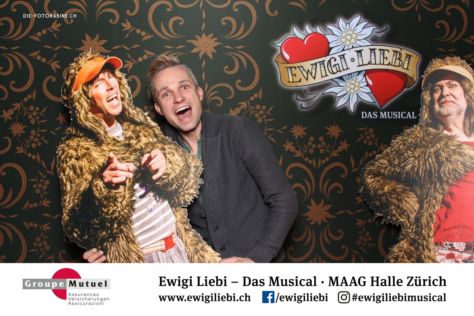 Photo Booth am Musical «Ewigi Liebi»