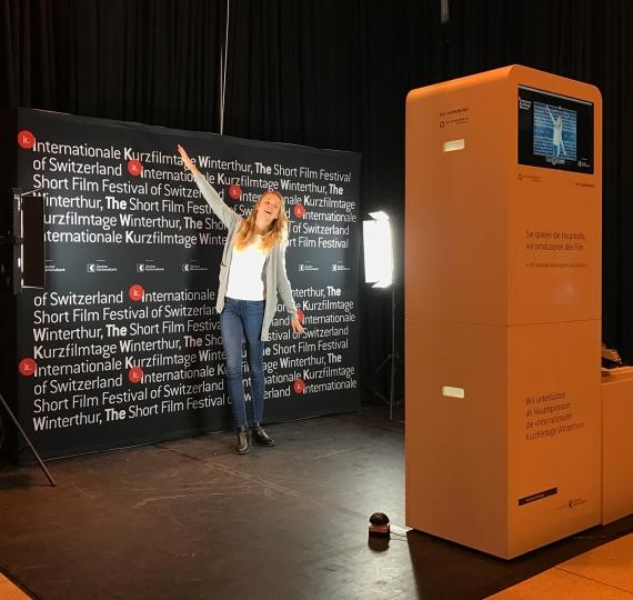 Daumenkino an den Internationalen Kurzfilmtagen Winterthur