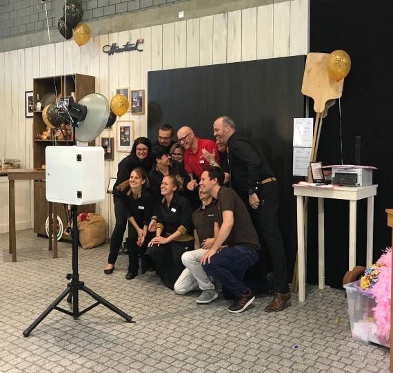 Fotobox für ARYZTA an Voll Messe Winterthur