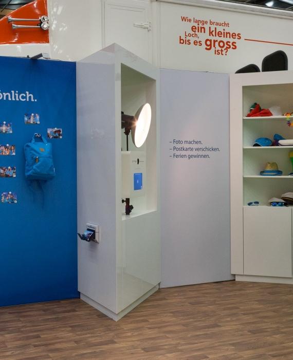 CSS Versicherung: Schweizweite Messeauftritte mit der Photo Booth Mobile