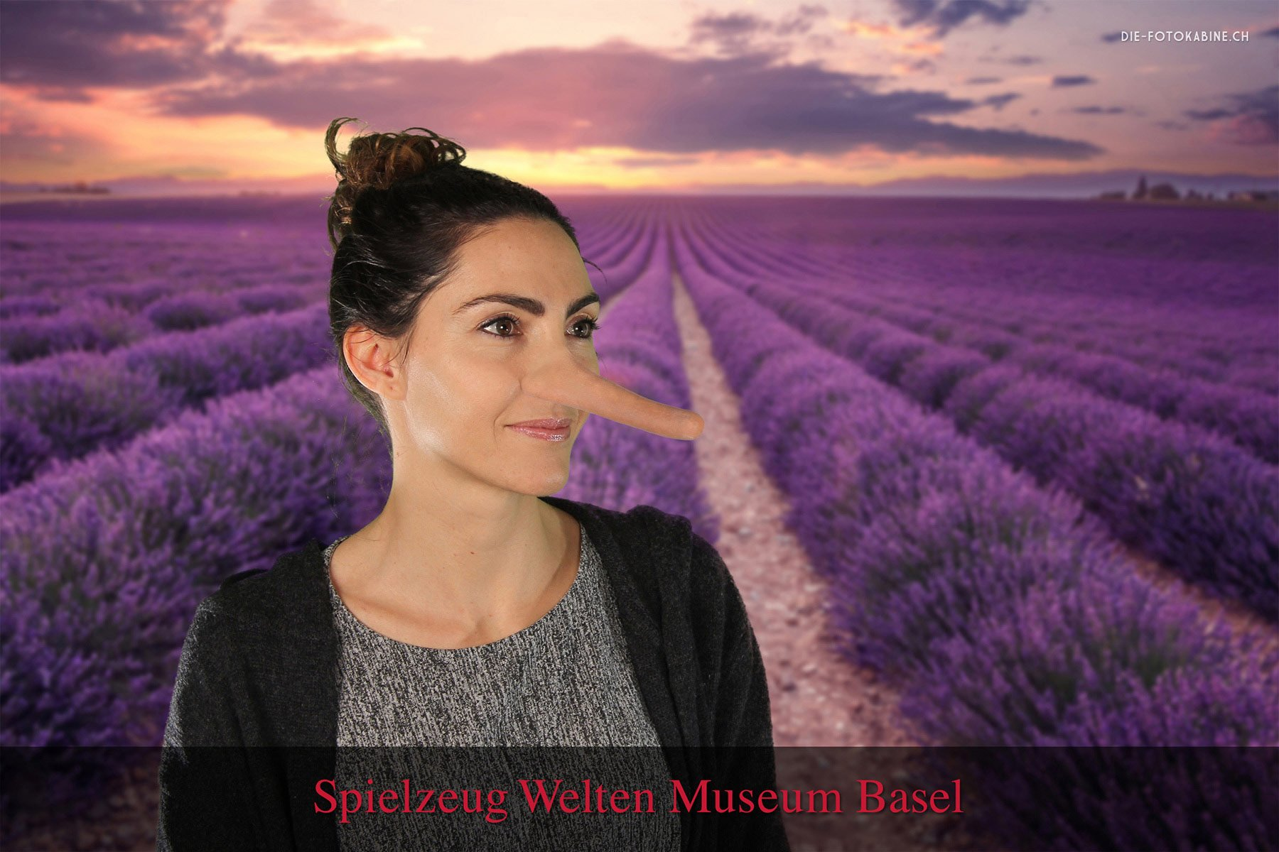 Greenscreen Fotostudio an der Museumsnacht 2018 in Basel