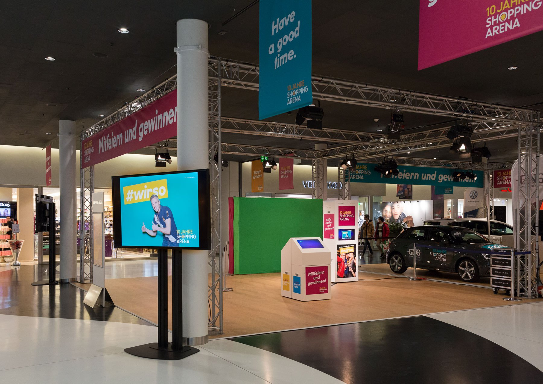 Photobooth pro mit diashow shopping arena sg 01 die for How to be a professional shopper