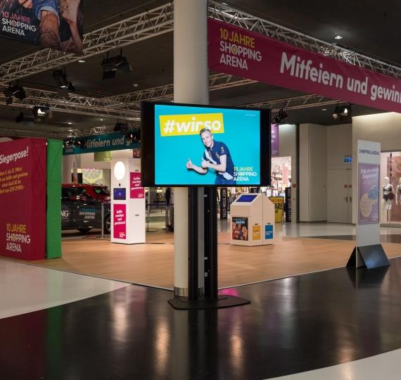 Photobooth Pro für Shopping Arena St.Gallen