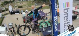 Ferngesteuerte Fotokamera für SkyBike am Bikefestival Basel